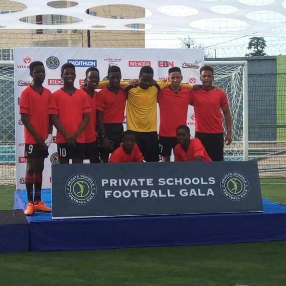 British International School pick bronze at private schools' football gala
