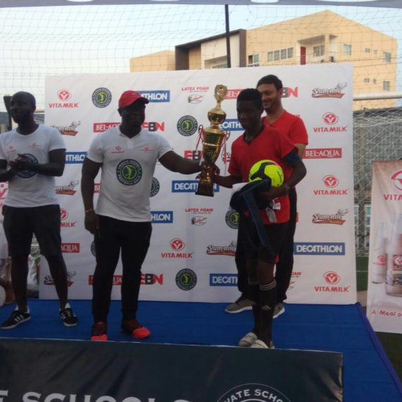 Rodney Appiah adjudged most valuable player at private schools' gala