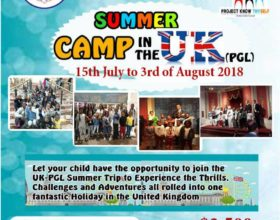 British International School presents SUMMER CAMP in the UK (PGL)