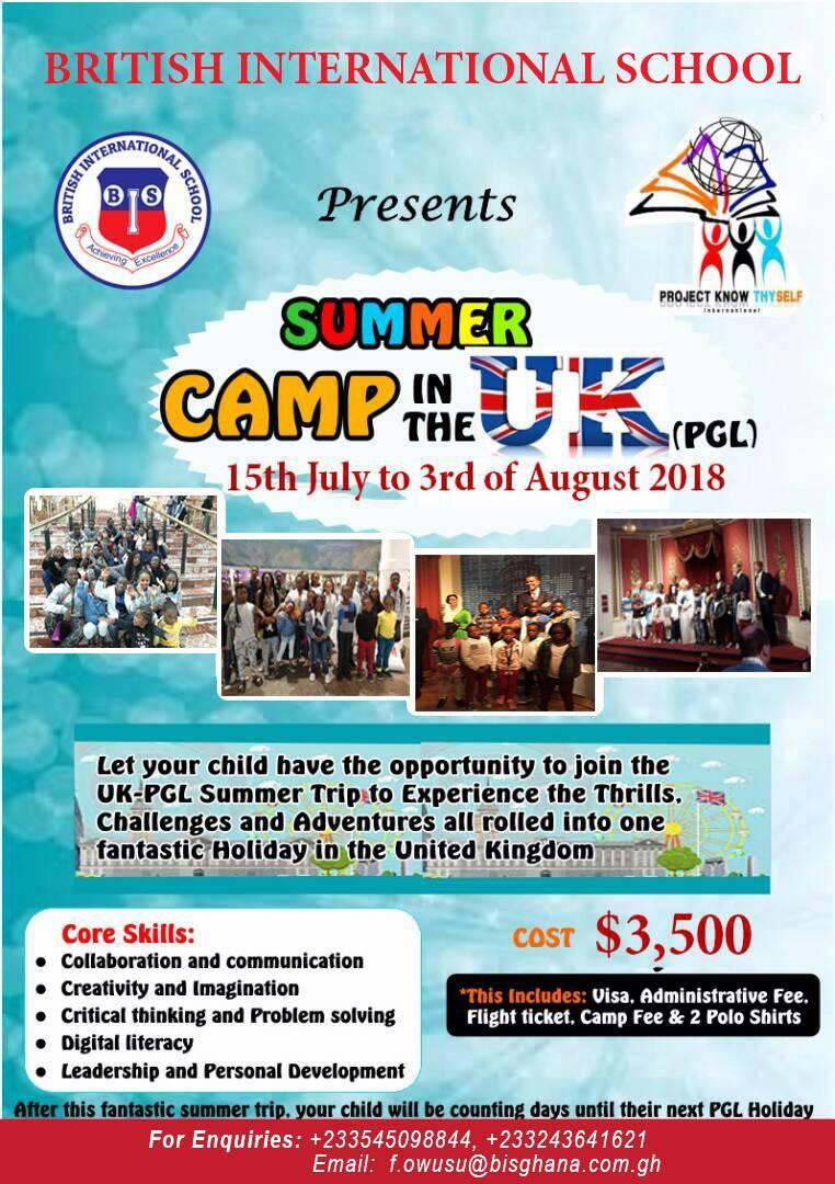 British International School presents SUMMER CAMP in the ...