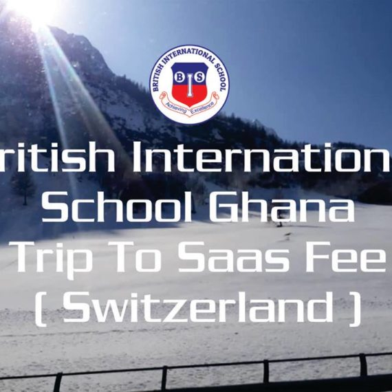 British International School – Ghana organized a trip to Saas Fee (Switzerland)