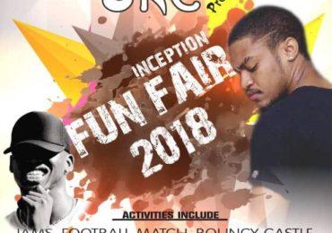 The SRC presents Inception Fun Fair 2018