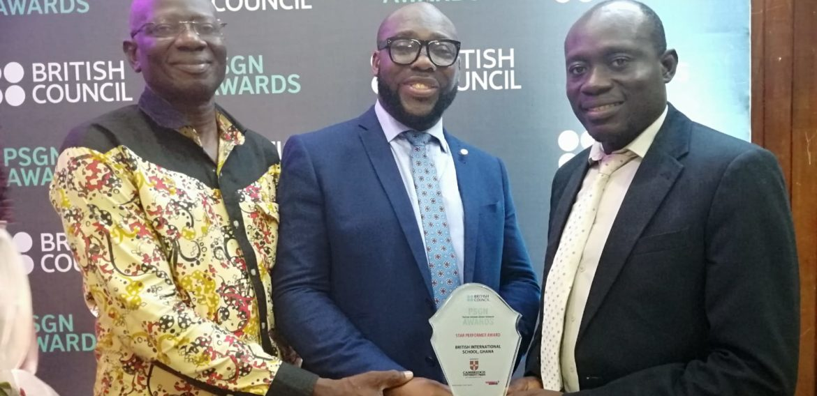 British Council awarded  British International School the best school in French at the PSGN awards 2019