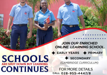 British International school is offering online learning for primary and secondary school
